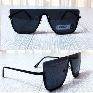 Other - 2/$18 NWOT Black Shield Sunglasses